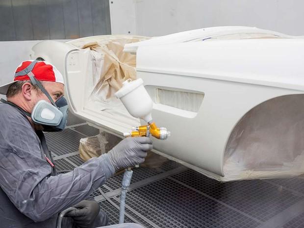 BMW 507 roadster chegou às mãos de Elvis na cor branca (Foto: Divulgação/BMW)