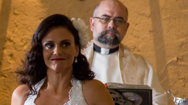 Totalmente Demais: Florisval se atrasa para o casamento (Fabiano Battaglin/Gshow)