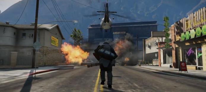 GTA 5 nos destaques dos trailers da semana (Foto: Reprodução)
