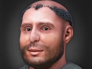 Imagem revela rosto de Santo Antônio com traços mais rústicos (Foto: Creative Commons / Wikimedia)