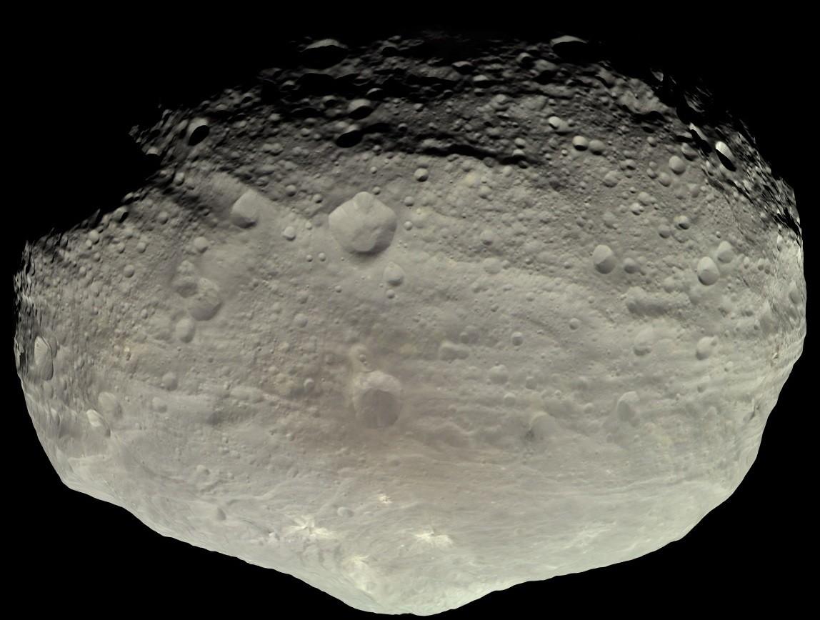 Vesta é o asteroide mais brilhante do Sistema Solar e o segundo maior objeto do cinturão de asteroides (Foto: NASA)