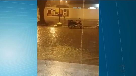 Chove em pelo menos 82 cidades da Paraíba no final de semana, diz Aesa