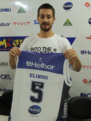 Elinho - Mogi das Cruzes (Foto: Thiago Fidelix)
