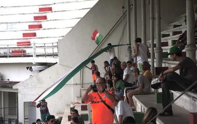 Torcida treino Fluminense (Foto: Diego Rodrigues)