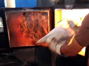 Drogas foram incineradas em forno industrial (Foto: Polícia Civil/Cedida)