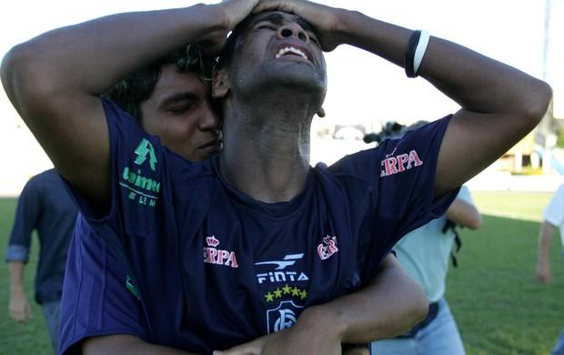 Comemoração pelo título da Série C 2005 (Foto: Carlos Silva )