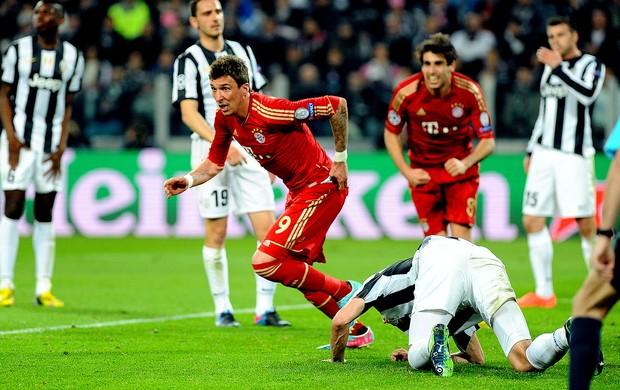 Mario Mandzukic gol Bayern de Munique Juventus (Foto: AP)