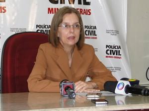 Delegada Cristina Coeli, em entrevista (Foto: Cíntia Paes/G1)