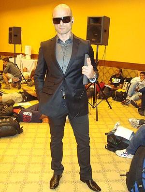 lutador seletiva TUF Brasil II MMA (Foto: Ivan Raupp / Globoesporte.com)