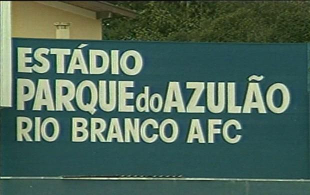 Negociações do estádio colaboraram para o fim do Rio Branco (Foto: Reprodução EPTV)