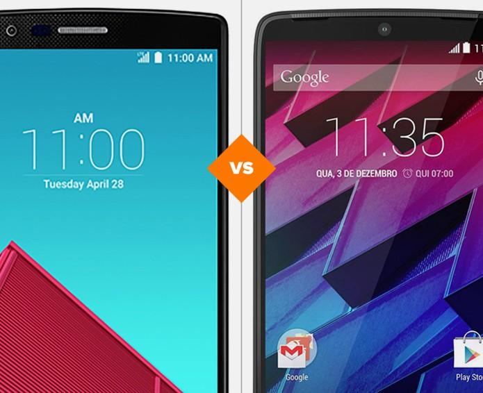 LG G4 ou Moto Maxx: veja qual smartphone é o vencedor do comparativo (Foto: Arte/TechTudo)