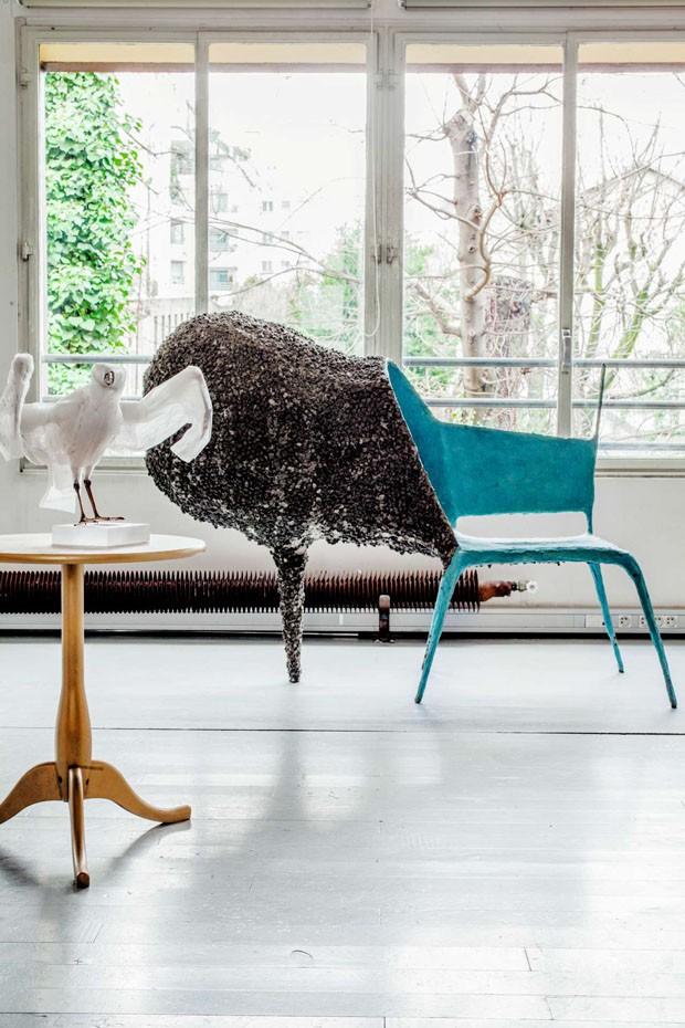 CV372 Casa Li Edelkoort Cadeira (Foto: Fran Matthieu Salvaing)