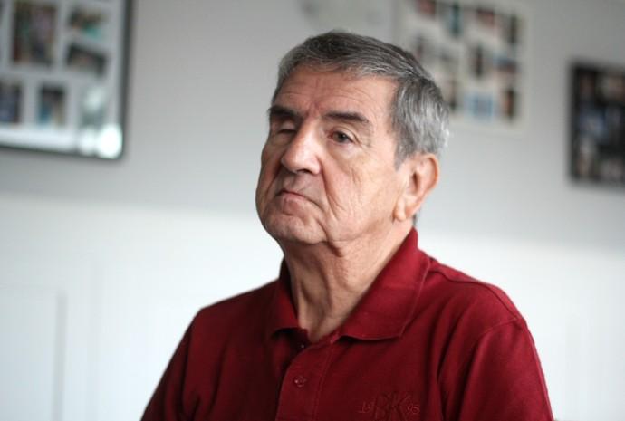 RN - Januário de Oliveira ex-narrador esportivo (Foto: Fabiano de Oliveira)