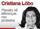 Planalto vê diferenças nos protestos (Editoria de Arte / G1)