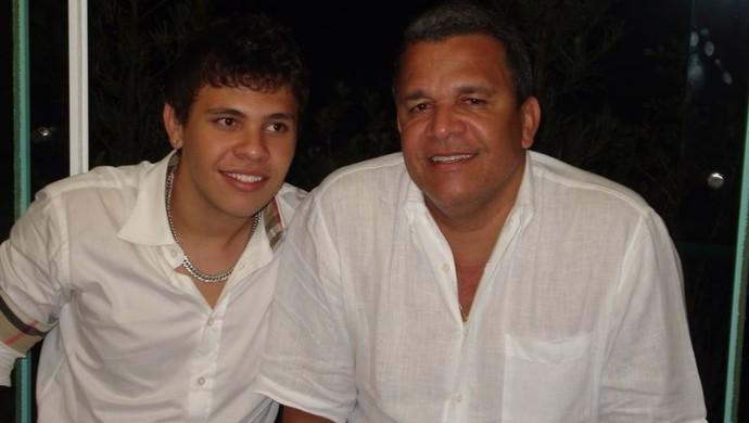 Guilherme dos Anjos e Hélio dos Anjos (Foto: Arquivo Pessoal)