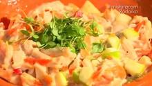 Salpicão de Frango Defumado: aprenda a fazer o prato (Reprodução/RBS TV)