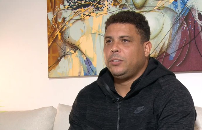 Ronaldo opinou sobre a seleção brasileira (Foto: Reprodução TV Globo)