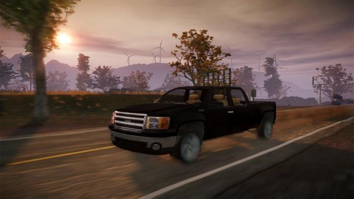 As caminhonetes aguentam mais danos que os carros (Foto: Divulgação)