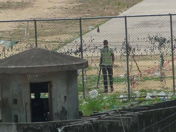 Equipamentos vão auxiliar na identificação de armas que tenham sido enterradas (Foto: Reprodução / TV Globo)