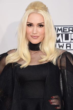 Gwen Stefani em prêmio de música em Los Angeles, nos Estados Unidos (Foto: Jason Merritt/ Getty Images/ AFP)