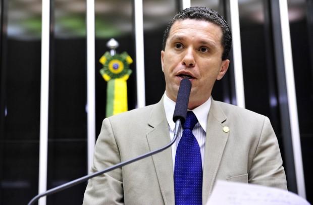 O deputado federal Fausto Pinato (PRB-SP), escolhido relator de processo que investigará o presidente da Câmara, Eduardo Cunha (PMDB-RJ) (Foto: Gabriela Korossy/Câmara dos Deputados)