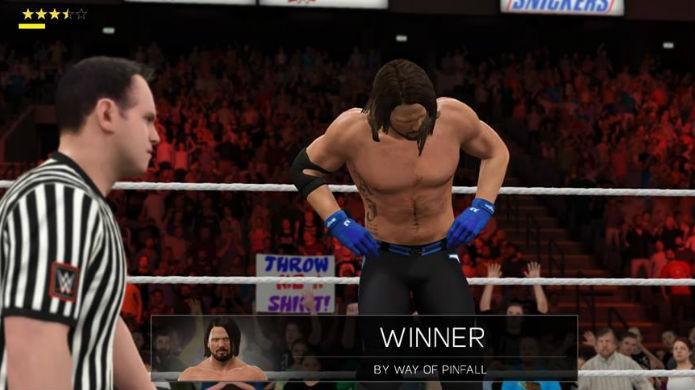 WWE 2K17 tem apresentação fiel aos eventos reais (Foto: Reprodução / Thomas Schulze)