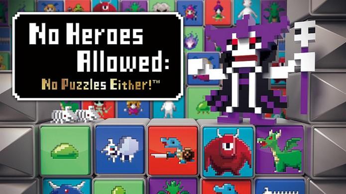 No Heroes Allowed: No Puzzles Either traz um divertido quebra-cabeça para o PS Vita (Foto: Divulgação)
