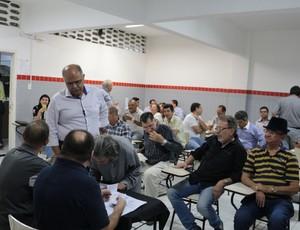 Eleição do Conselho Deliberativo do Treze (Foto: Divulgação / Treze)