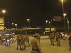 Protesto em SC contra impeachment de Dilma tem conflito e bloqueia ponte