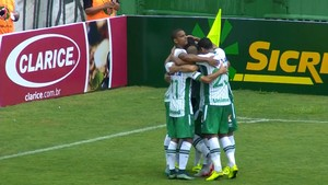 Chapecoense x Inter de Lages (Foto: Reprodução/PremiereFC)