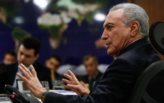 Michel Temer, presidente do Brasil (Foto: Marcos Corrêa/PR)