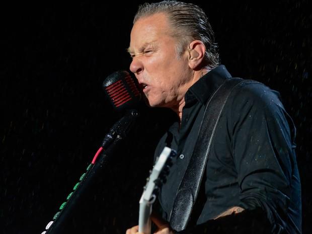 Metallica faz show 'interativo' para 65 mil em SP (Foto: Flavio Moraes/G1)