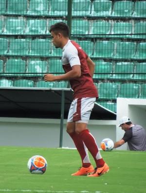 Guilherme Lazaroni Figueirense (Foto: Marcelo Silva)