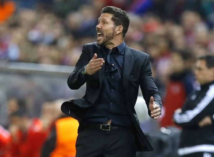 Simeone Atlético de Madrid x Bayern de Munique (Foto: AP)