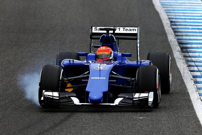 Felipe Nasr - Sauber - testes de pré-temporada - Jerez - dia 2 (Foto: Getty Images)