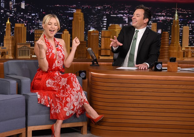 Kate Hudson e Jimmy Fallon (Foto: Getty Images)