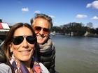 Glória Pires e Orlando Morais comemoram 28 anos juntos