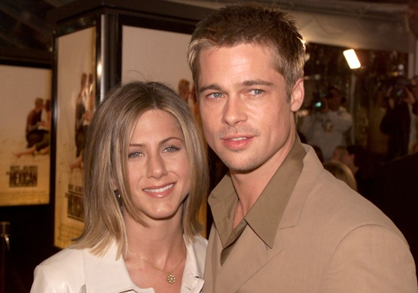 Jennifer Aniston e Brad Pitt (Foto: Getty Images)