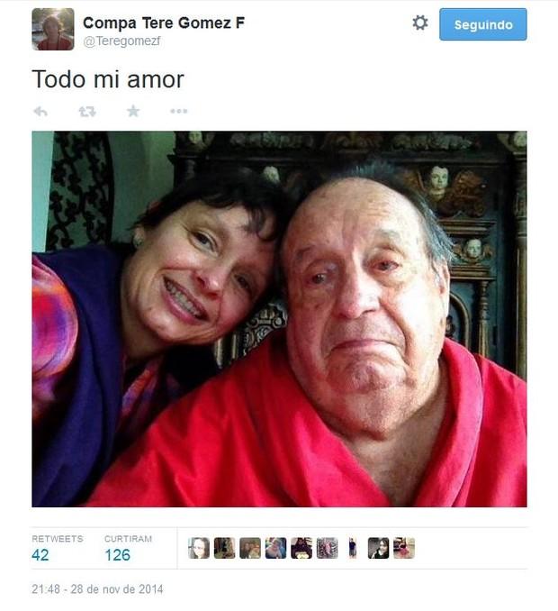 Teresa Gomez (Foto: Reprodução/Twitter)