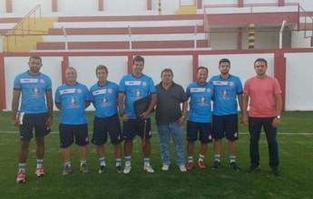 Moacir Júnior é apresentado aos atletas e inicia trabalho no Tombense