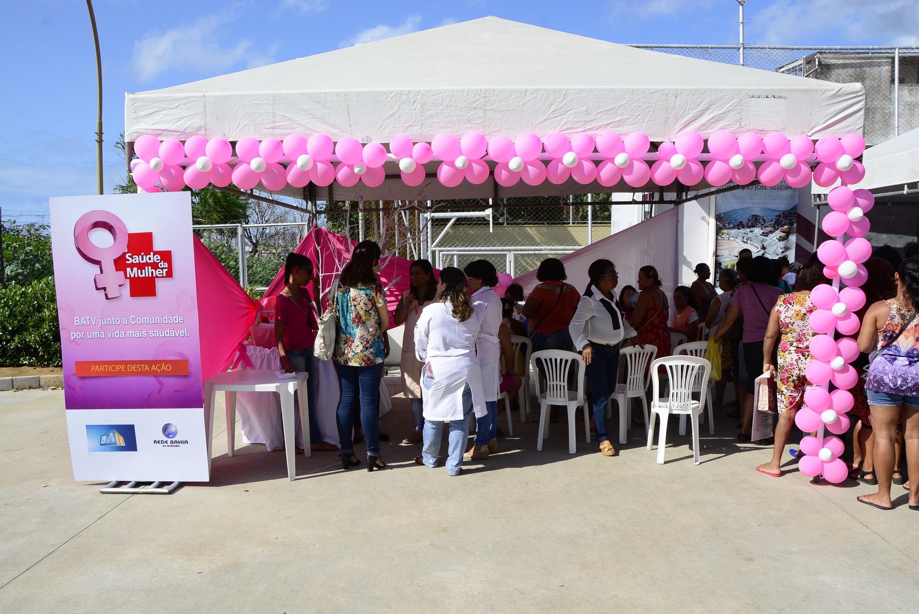Ação Saúde da Mulher (Foto: Divulgação)