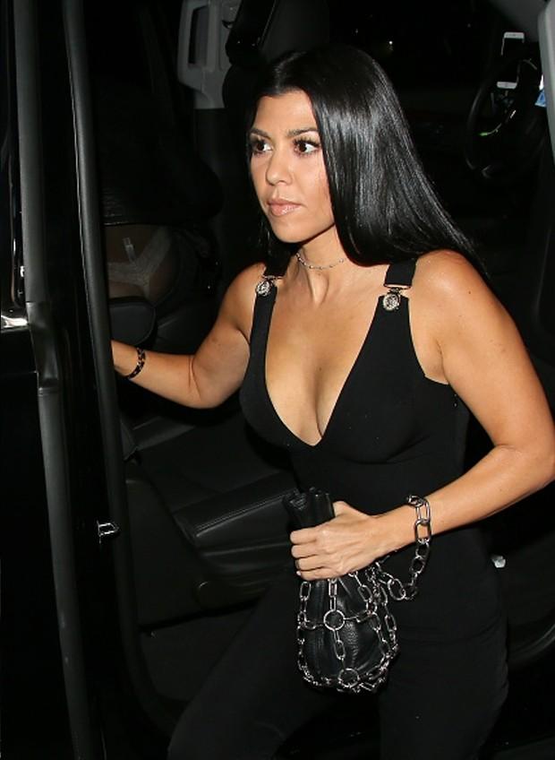 Kourtney Kardashian celebra aniversário de Gigi Hadid (Foto: Getty Images)