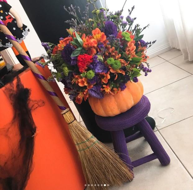 Decoração de festinha de Halloween de Kelly Key (Foto: Reprodução/Instagram)