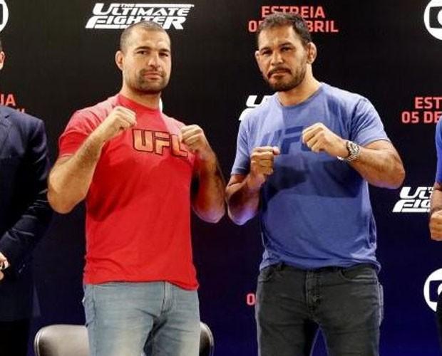 Chegou a hora que os viciados em UFC e no mundo do MMA mais esperavam! (Foto: Reprodução/Rede Globo)