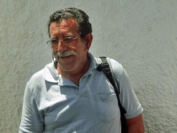 Avelino Mendes Fortuna, pai de Lucas Cardoso Fortuna, jornalista goiano morto em Pernambuco (Foto: Katherine Coutinho / G1 PE)