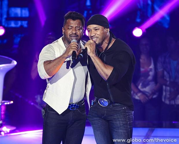 Angelo e Ângel Tira-Teima 2 (Foto: Fabiano Battaglin/TV Globo)