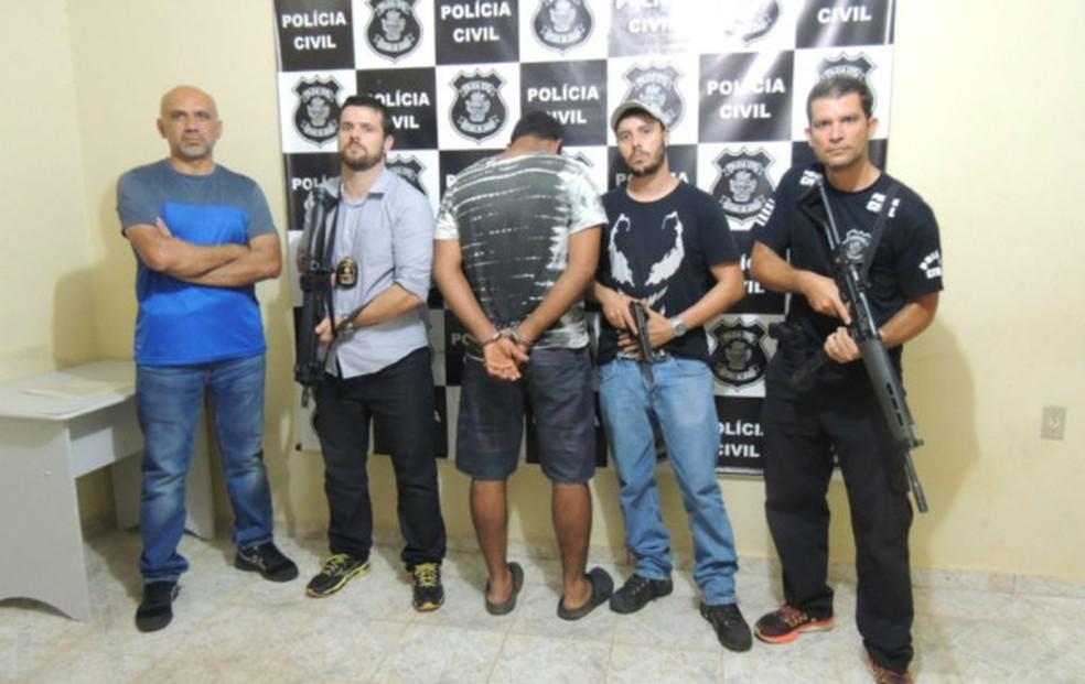 Servidor público é preso suspeito de estuprar turista em Alto Paraíso de Goiás (Foto: Divulgação/Polícia Civil)