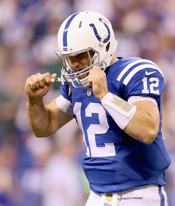 Andrew Luck - Indianapolis Colts x New York Jets NFL semana 2 (Foto: Getty Images)