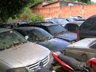 Pátio de carros fecha  e causa transtornos (Reprodução/ TV TEM)