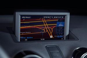 Sistema de GPS do Audi A1 Sportback 1.4 (Foto: Fabio Aro / Autoesporte)